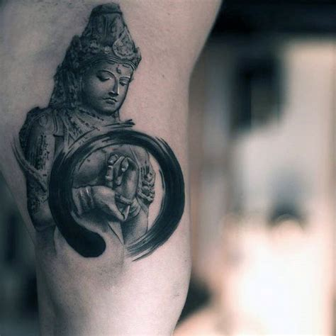 inner peace tattoo designs 60 enso designs for zen japanese ink ideas