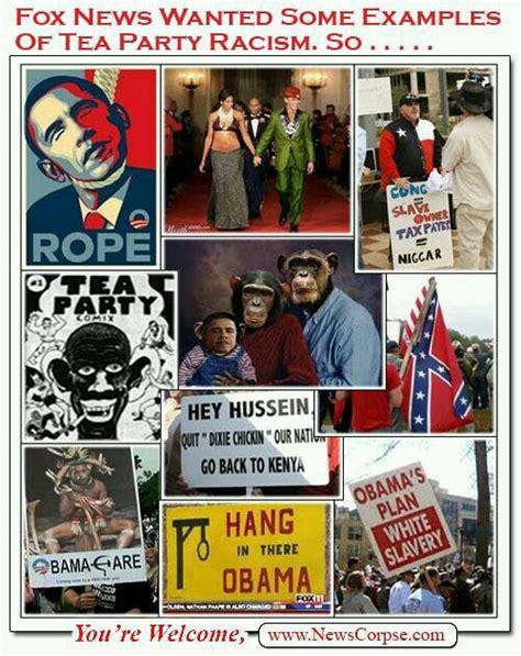 Tea Party Memes - republican racism against president obama racist memes