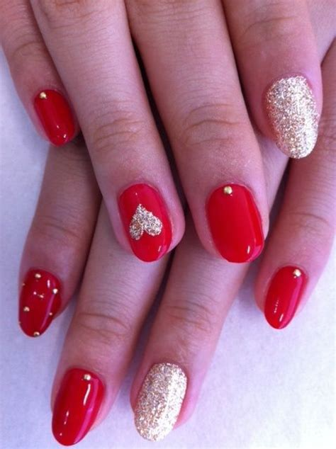 picture of awesome valentines day nails ideas 23
