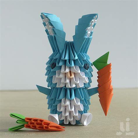 Origami 3d Rabbit - 3d oragami bunny paper crafts oragami