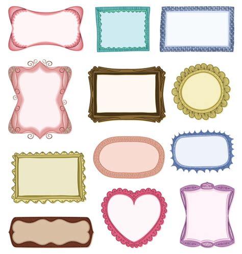 photo frame design vector blank frames design vector collection 01 free free download