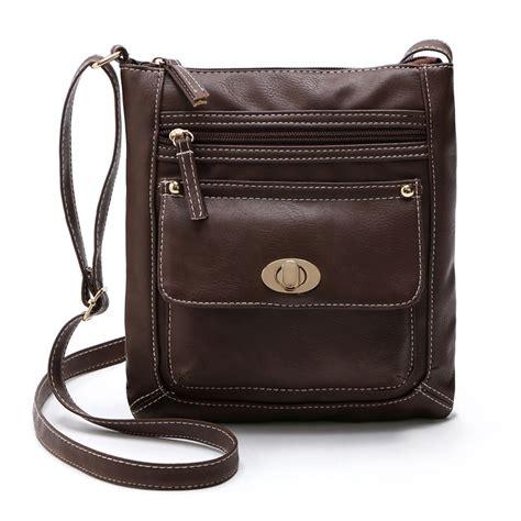 womens crossbody bags c malloom womens pu leather satchel bag cross body shoulder