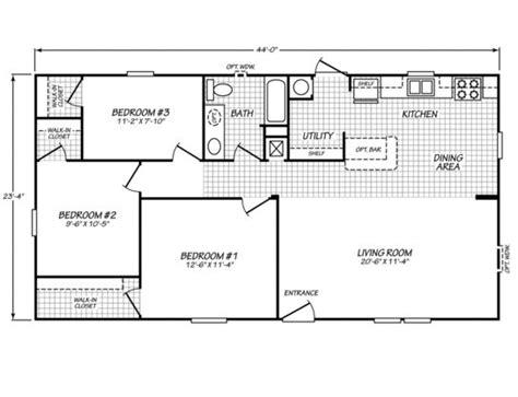 micro mobile home plans optional floor plan sandalwood xl 24402x 3 bedrooms 1