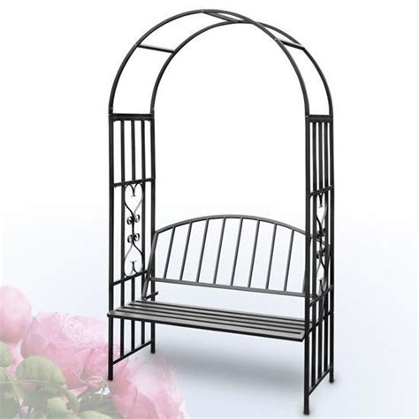 rose arch with bench garden arch bench metal trellis rose archway wedding