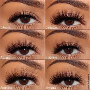 types 8 mac fake eyelashes serpden