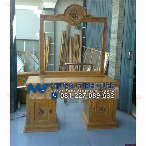 Tolet Meja Rias Jati tolet meja rias mustika kayu jati mebel jati jepara mebel minimalis modern jual furniture