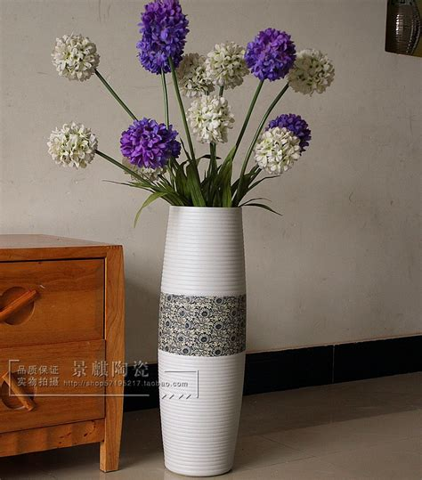 Large Vases With Flowers by Cheap Jingdezhen Ceramic Vase Fashion Modern Brief Large