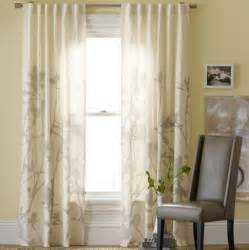 Bamboo Curtains For Windows Bamboo Printed Window Panel Contemporary Curtains By West Elm