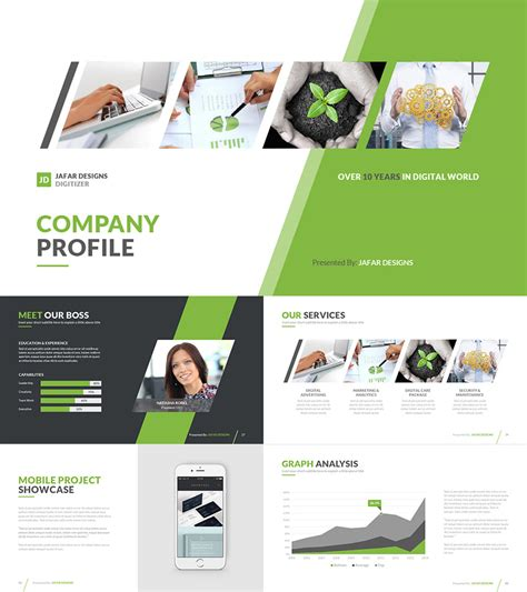21 Medical Powerpoint Templates For Amazing Health Presentations Company Profile Template Powerpoint