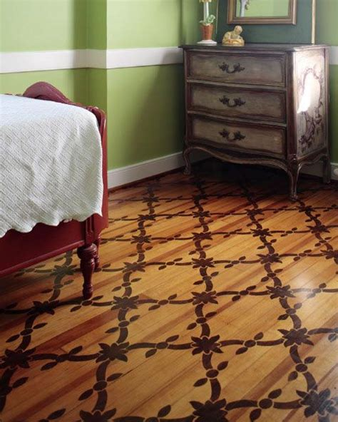 stain pattern on wood floor stained painted plywood floor painted floors pinterest