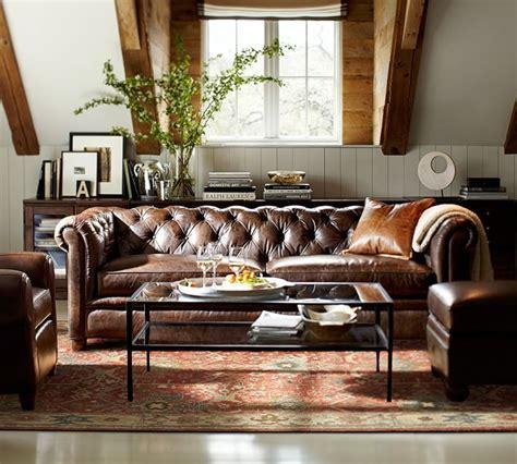 wohnzimmer chesterfield chesterfield leather sofa einrichtungsideen wohnzimmer