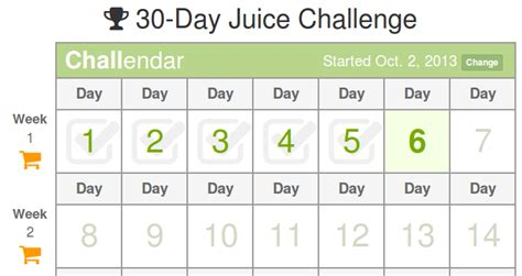 Juice 30 Day Detox by 30 Day Juice Challenge Juice Recipes