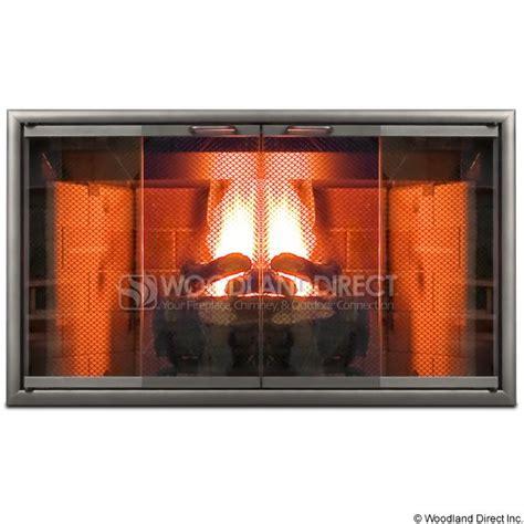 best 25 fireplace glass doors ideas on glass