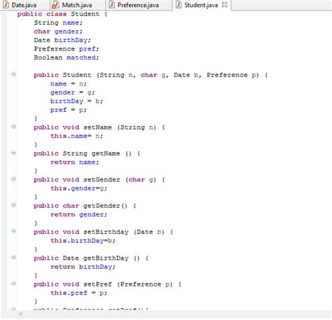 setter definition java object how do you define a constructor in java stack