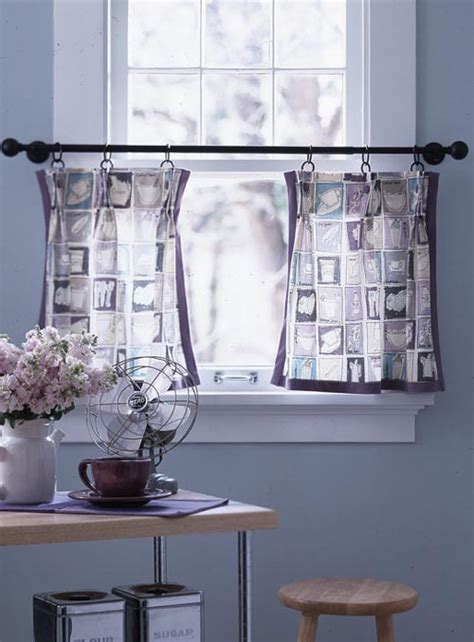 Kitchen Window Curtains Ideas Home Modern Kitchen Window Curtain Ideas