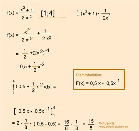 Rechnung Berechnen Englisch Integralrechnung Oberstufe Aufgaben Mit Musterl 246 Sung
