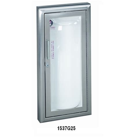 clear vu series fire extinguisher cabinet with acrylic