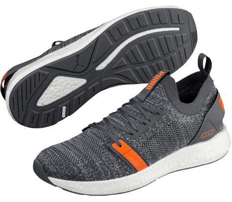 Neko Shoes Orange by Nrgy Neko Engineer Knit S Running Shoes Grey