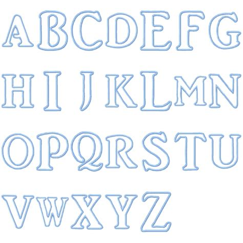 applique letters template applique templates alphabet free images