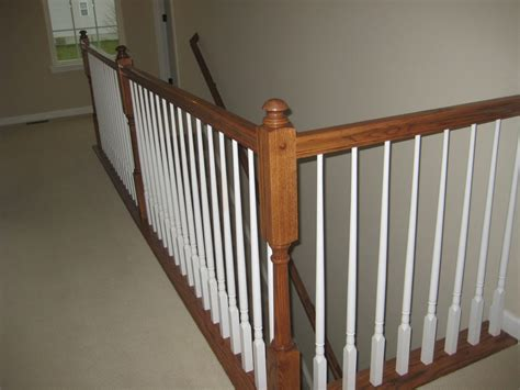 Banister Vs Baluster Building Our Home With Homes Half Walls Vs