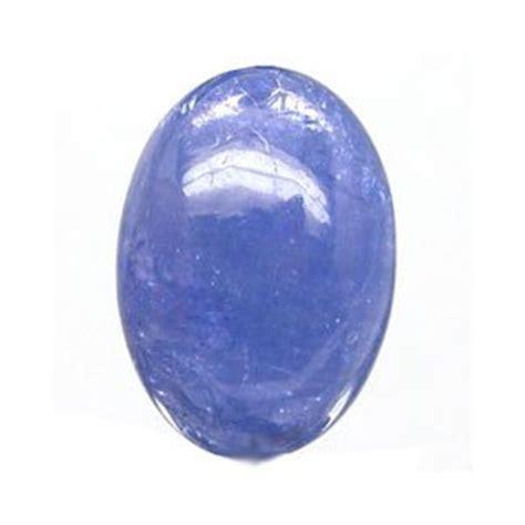 tanzanite cabochon unset blue gemstone 10 87 carats