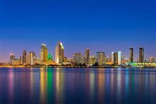 San Diego San Diego Tours San Diego City Lights At