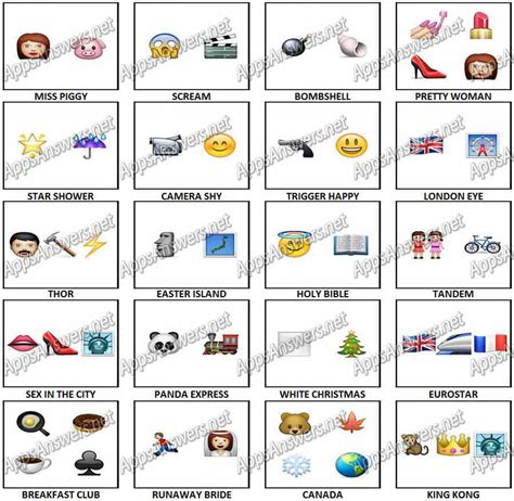 emoji quizzes emoji xpress answers myideasbedroom com