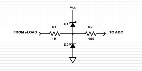 adc protection diode protecting adc input with diode cl page 1