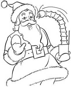 Free printable santa claus coloring pagesfor kids