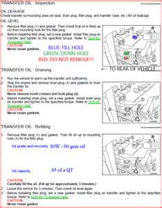 Nissan Murano Cvt Transmission Fluid Change Nissan Murano Cvt Fluid Change Interval