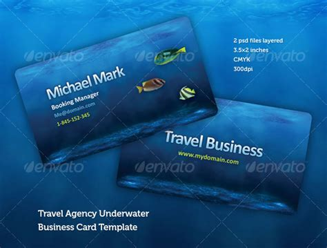 travels visiting card templates 56 visually stunning psd business card templates web