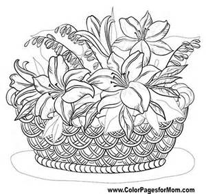 free printable coloring pages for adults advanced flowers advanced coloring pages flower coloring page 55