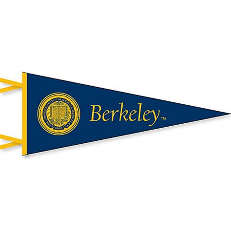 Home Decor Flash Sale by University Of California Berkeley 6 X 15 Pennant