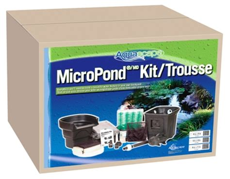 Aquascape Micropond Kit by Water Garden Pond Products Pond Water Garden