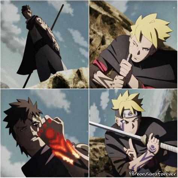 film naruto dan sasuke vs madara boruto vs kawaki boruto nueva generacion pinterest