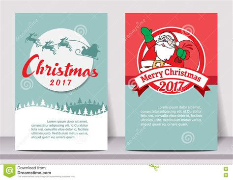 Card Banner Template by Merry Happy New Year Typography Flyer Template