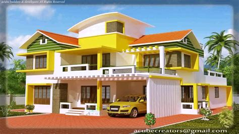 houses design photos kerala house design photo gallery youtube