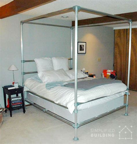 diy bed frame best 25 pipe bed ideas on industrial bed