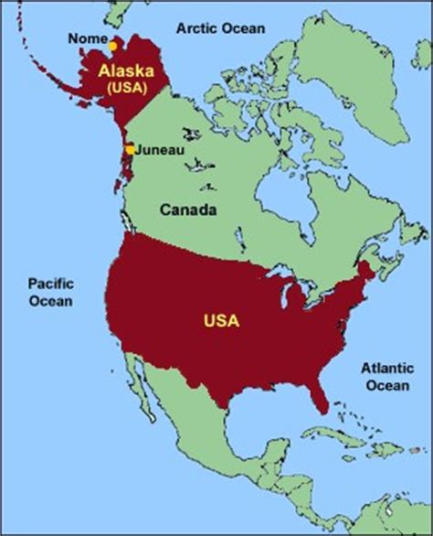 us map where is alaska the gold era in alaska s history