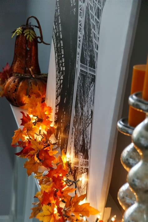 fall leaf decoration 30 cool ways to use autumn leaves for fall home d 233 cor