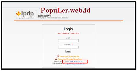 urutan langkah langkah membuat npwp pribadi secara manual pendaftaran online beasiswa lpdp 2018 2019 pendaftaran