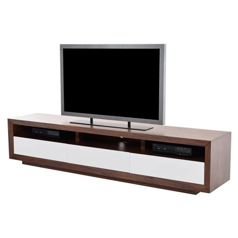 White Gloss Desk Contour Walnut Tv Stand El Dorado Furniture
