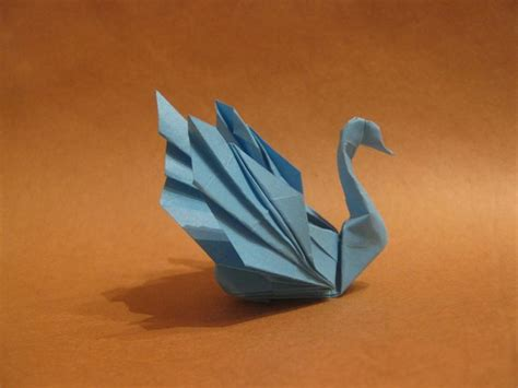 Origami Easy Swan - best 25 origami swan ideas on origami paper