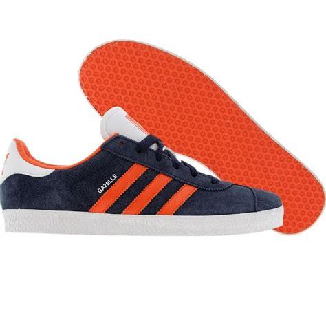 Adidas Gazel Navy In Orange 1000 images about adidas gazelle on indigo and scarlet