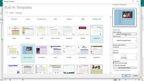 publisher 2013 templates change templates in publisher and lesson