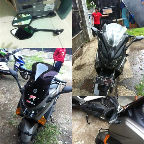 Spion Motor R25 Dan Bracket Yamaha Nmax 59 jual yamaha nmax modifikasi modifikasi yamah nmax