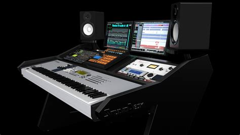 88 key keyboard studio desk virtuoso series studiodesk