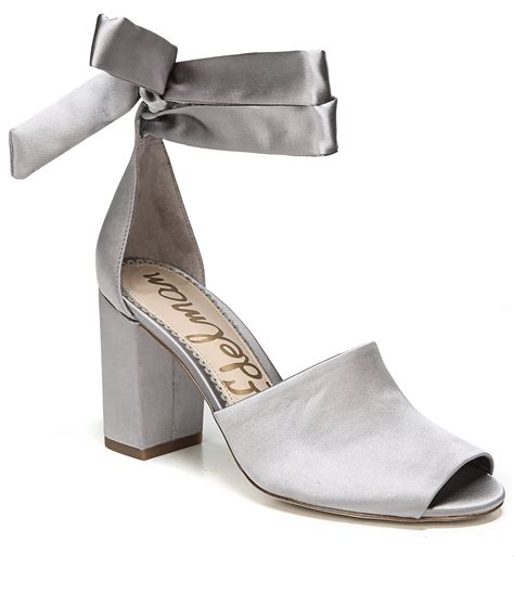 grey dress sandals sam edelman odele dress sandals dillards