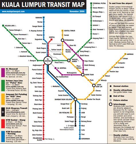 Ktm Kuala Lumpur Map Travels March 2015