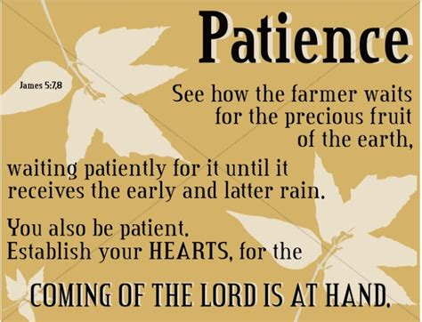 Bible Quotes About Patient by Patience Word Scripture Word